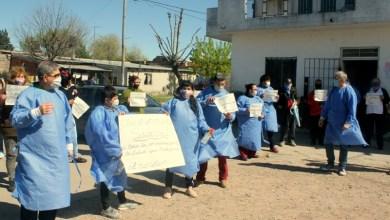 Photo of Laferrere: jornada de protesta de la sala de salud Dr. Néstor Chino Oliveri