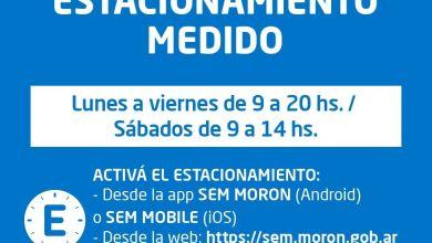 Photo of Vuelve a regir el estacionamiento medido en Morón