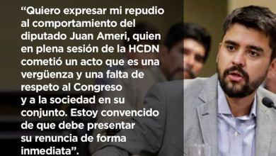 Photo of «Ameri debe presentar su renuncia»
