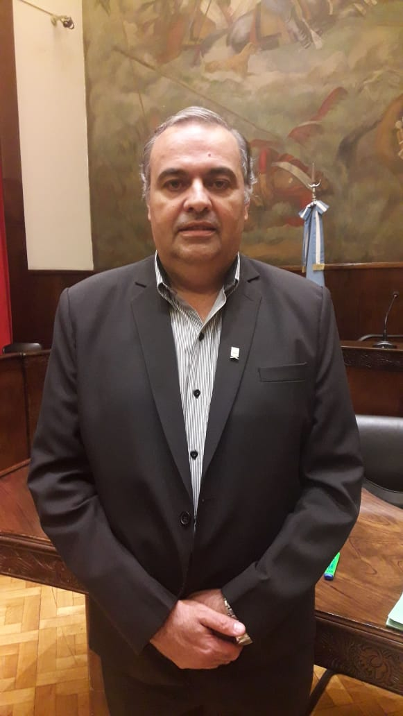 """Marcelo González: """"Venimos trabajando fuertemente en el Distrito y en el Concejo"""""""