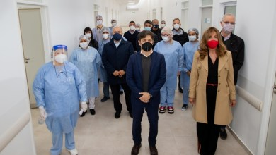 Photo of Kicillof inauguró un nuevo centro de salud y una sucursal del Banco Provincia en Ezeiza