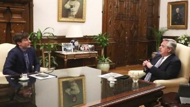 Photo of Fernández recibió al intendente de Morón para evaluar la situación sanitaria