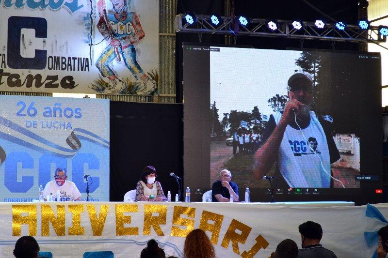Gregorio de Laferrere: conmemoración del 26ª aniversario de la CCC