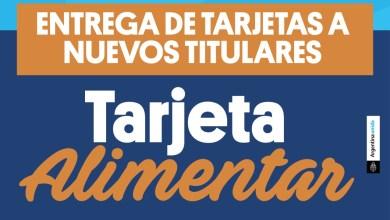 Photo of Entrega de Tarjetas Alimentar a nuevos titulares