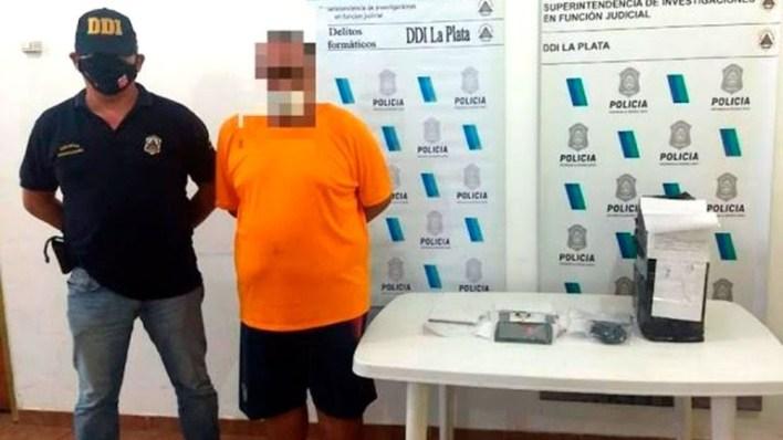 Detuvieron a un enfermero del Hospital de Niños de La Plata acusado de distribuir pornografía infantil