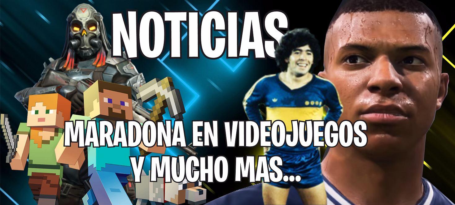 Juegos gratis, apariciones de Maradona en videojuegos y nuevas actualizaciones