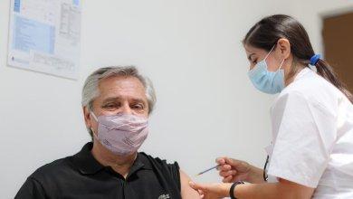 Photo of Alberto Fernández se vacunó contra el coronavirus