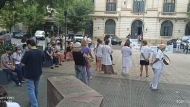 Photo of San Justo: nueva protesta de los trabajadores del hospital del niño al Municipio