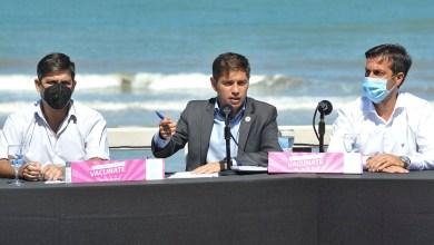 """Photo of Kicillof: """"Todos los bonaerenses que quieren vacunarse le ganaron a la campaña antivacunas"""""""