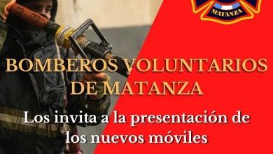 Photo of Los Bomberos Voluntarios invitan a la comunidad a celebrar por los nuevos equipos