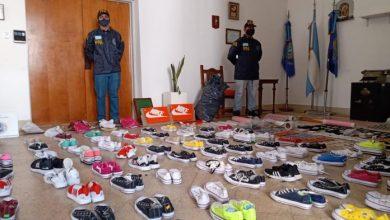 Photo of Comercializaban zapatillas con marcas internacionales truchas, un detenido