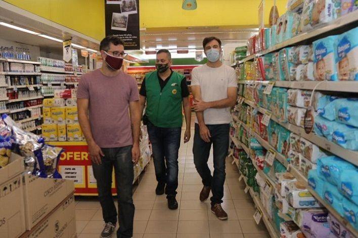 Morón:  El Municipio fiscalizó el cumplimiento de los acuerdos de precios en supermercados