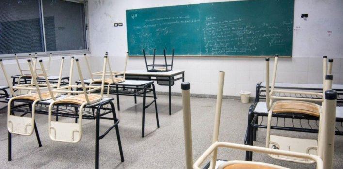 Un colegio suspendió la actividad en las aulas hasta el 25 de abril en los tres niveles de enseñanza