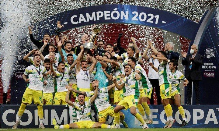 Defensa y Justicia campeón de la Recopa Sudamericana