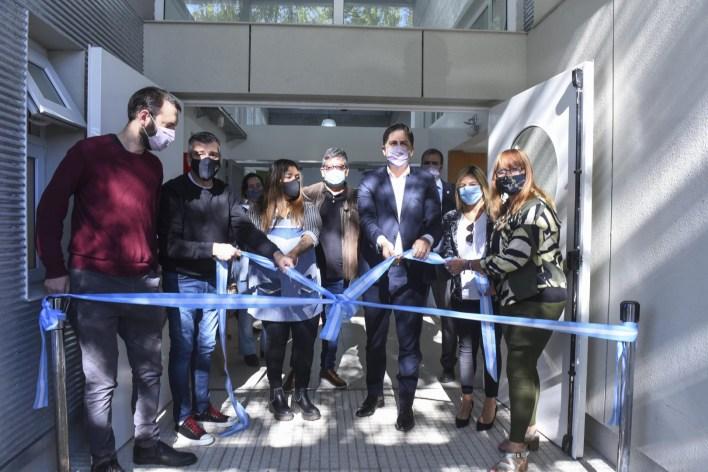 Trotta y Zabaleta inauguraron un Jardín de Infantes en Hurlingham