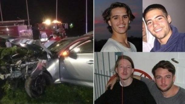 Manejaba su Audi alcoholizado y chocó contra una columna: se murieron sus dos amigos