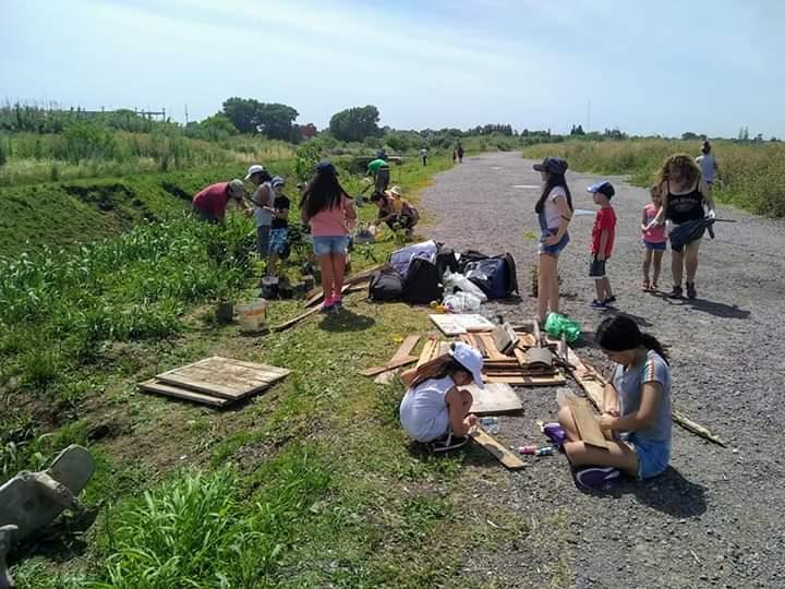 Nueva jornada de protesta para defender la Reserva Natural Laferrere