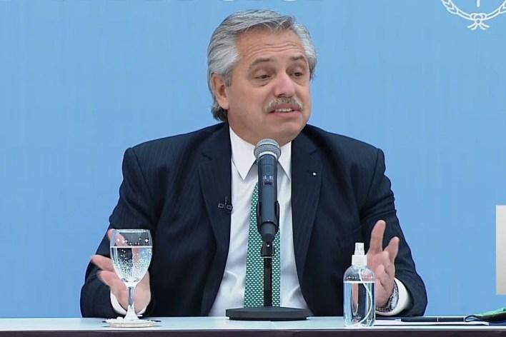 """Alberto Fernández, sobre sus ministros: """"Todos los que son candidatos deben dejar sus cargos"""""""