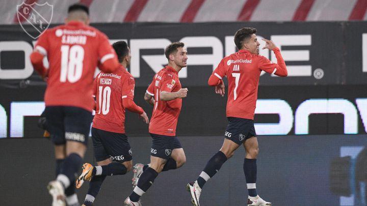 Independiente ganó y es puntero y River no tuvo piedad con Lanús