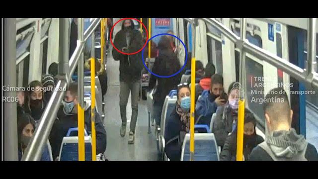 Morón: agredió a una mujer a bordo del tren y terminó detenido