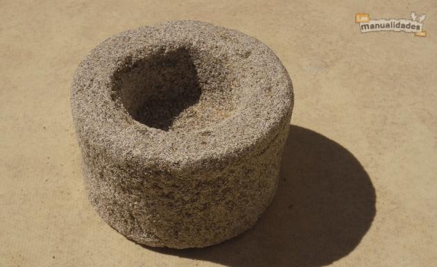 Velas de parafina y arena demoldado