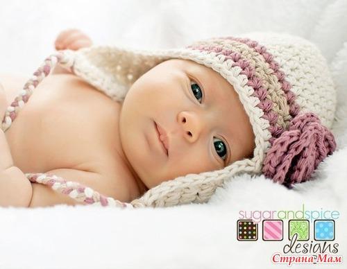patrones crochet, gorros con orejeras para niños y bebés 4