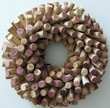 Corona ideas para reciclar corchos