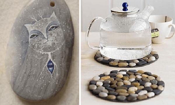 Creatividad con piedras: 50 ideas y tutoriales