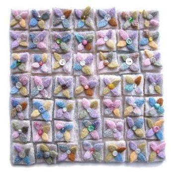 Arte en tejidos reciclados