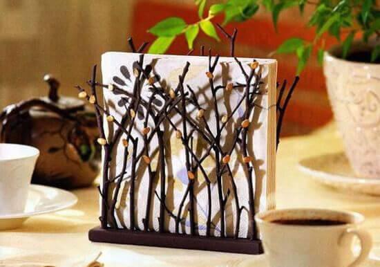 Creativas ideas para decorar con ramas - Ramas de arbol para decoracion ...