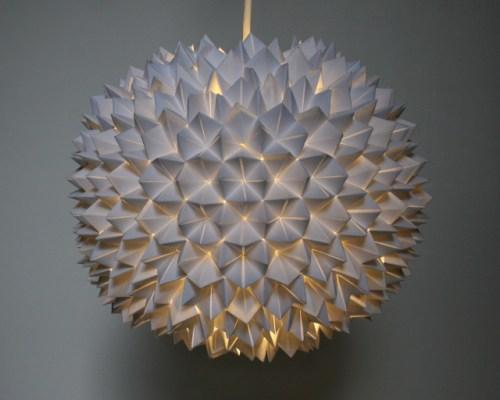 Cómo hacer lámparas de papel diseño sapitos
