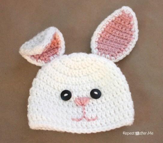 gorros de crochet para bebés 8