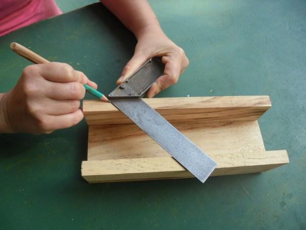 Enguiletadora casera para hacer marcos diario artesanal - Construir altillo madera ...