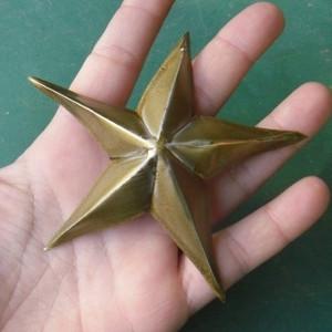 Reciclaje para navidad estrellas con latas