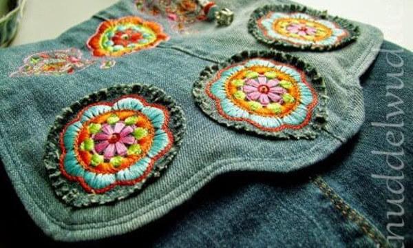 Jean reciclado: Ideas para hacer bolsos