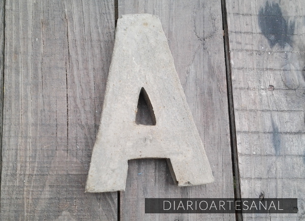 Moldes para letras de cemento 9