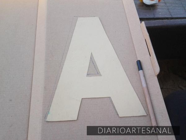 Moldes para letras de cemento 1