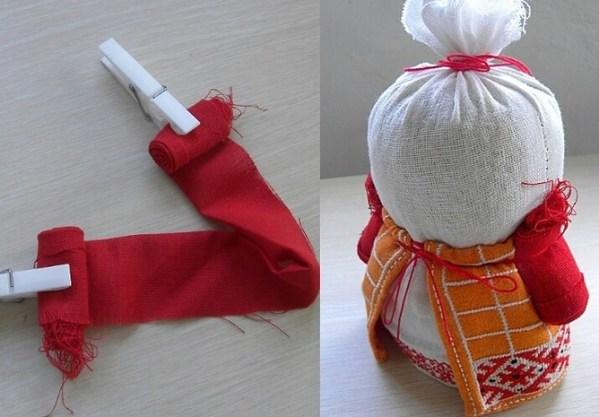 Cómo hacer muñecas de trapo fáciles 6