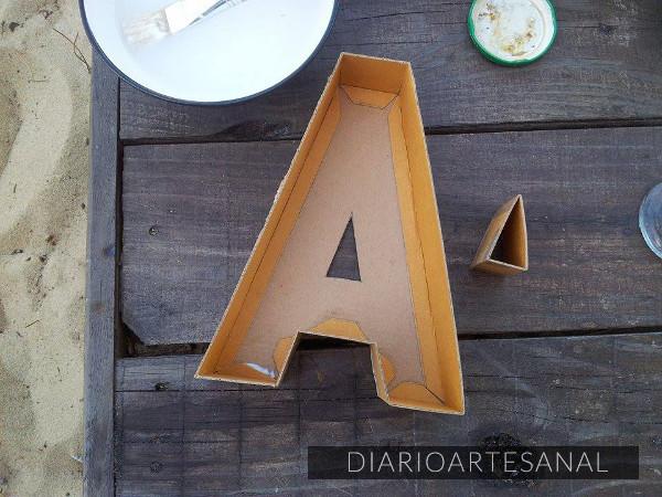 Moldes para letras de cemento 5