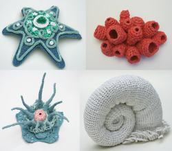 Arte en crochet con reciclaje de bolsas