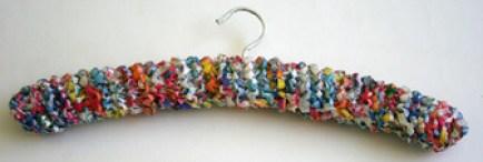 Ideas para reciclar bolsas percha
