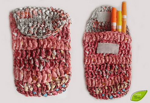 Ideas para reciclar bolsas estuche