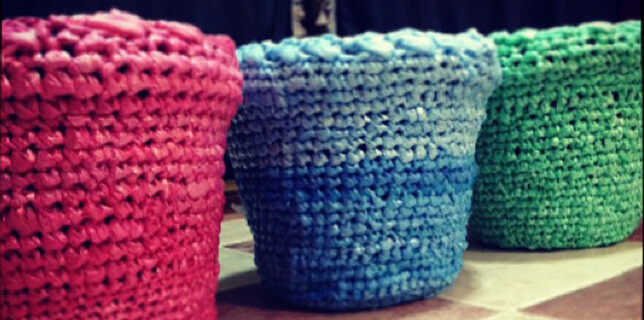 cestos-ganchillo-nylon-de-bolsas