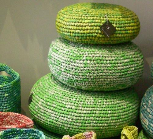 Ideas para reciclar bolsas almohadones