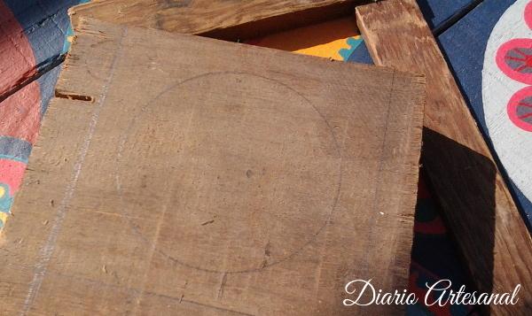 Elegir y marcar la madera para el taller de tallado