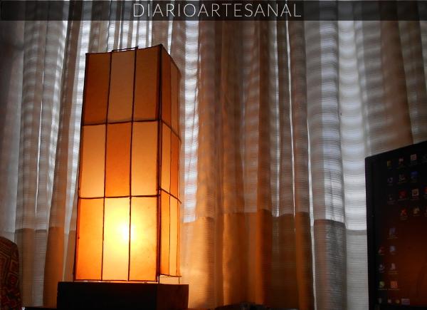 Receta de lámpara artesanal