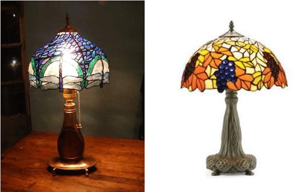 Botellas de plástico recicladas lámparas diseño falso vitreaux con reciclaje