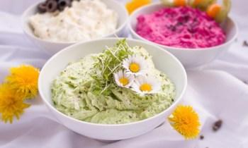 Cocina con flores
