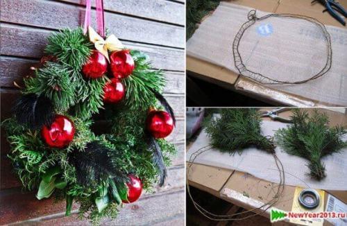 Decoración de navidad natural 4