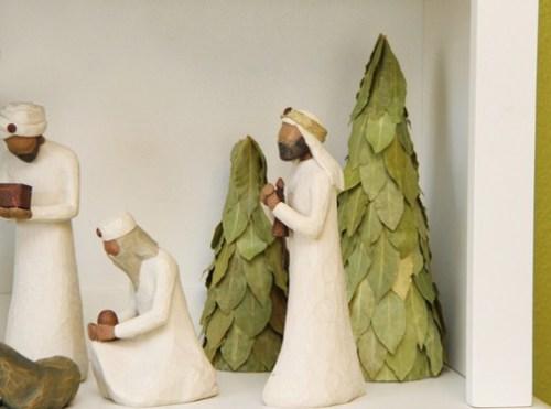 Decoración de navidad natural 5